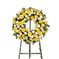 Corona de Rosas Amarillas
