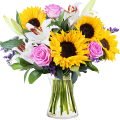 Confetti: Sunflowers and Lilies