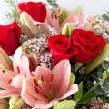 Unique Romance: Roses and Lilies