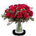 Lavish Love: 24 Red Roses