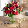 Red Magic: Lilies and Roses