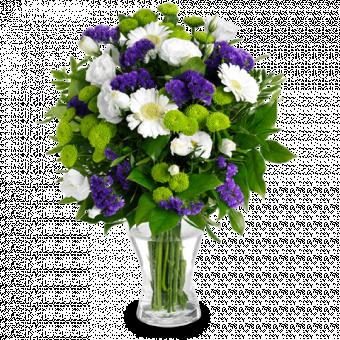 Fantasía Floral: Gerberas y Lisianthus