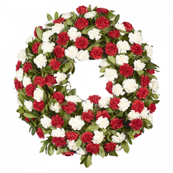 Big Carnation Wreath