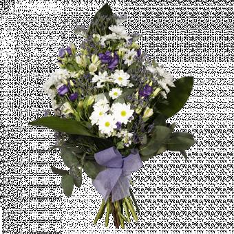Liliowy Bukiet Polnych Kwiatów