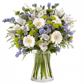 Bouquet Gerbere e Lisianthus