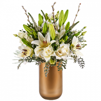 White Hope: Lys and Lisianthus