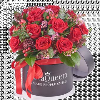 Canción de Amor: Caja Rosas Rojas