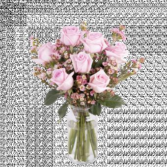Amore Rosa: rose e paniculata