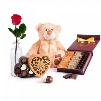 Ein Herz für Schokolade