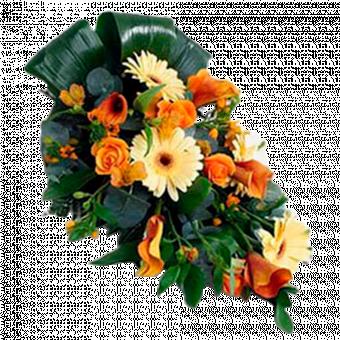 Pomarańczowy Bukiet 60 cm