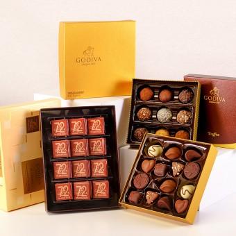 Godiva Golden: Godiva Schokoladenauswahl
