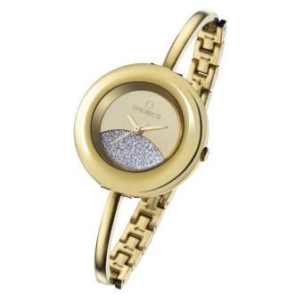 Glitter Damenuhr Gold