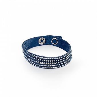"""""""Simple Twist"""" Bracelet with Swarovski crystals"""