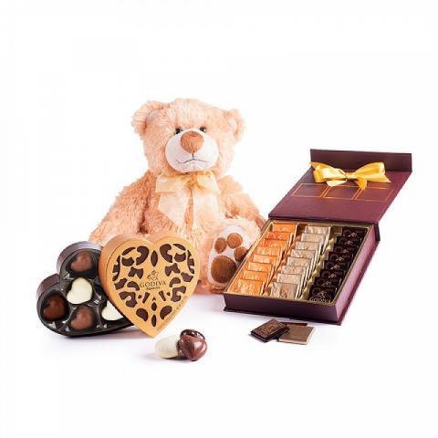 Cesta Amore e cioccolato