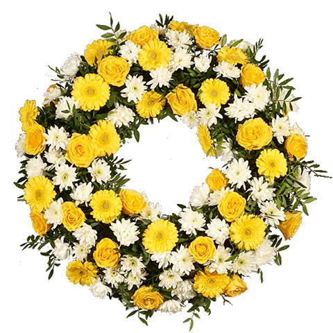 Big Yellow Wreath