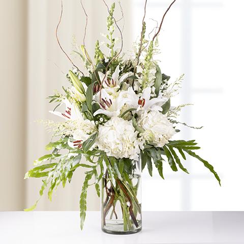 Ekstremalna elegancja: 25 białych kwiatów