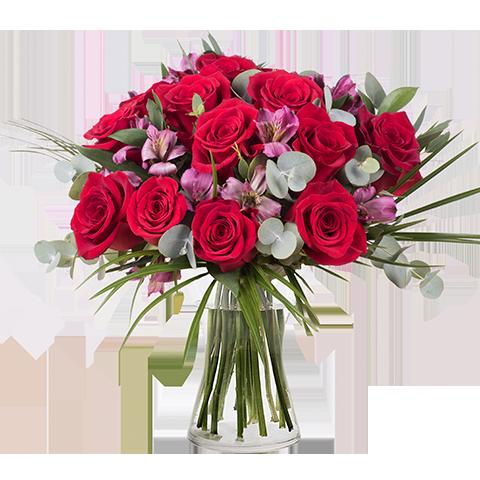 Trendy: Roses and Alstroemerias