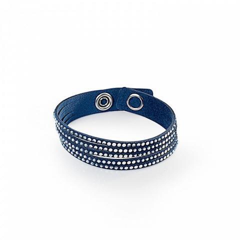 Armband Simple Twist mit Swarovski-Kristallen