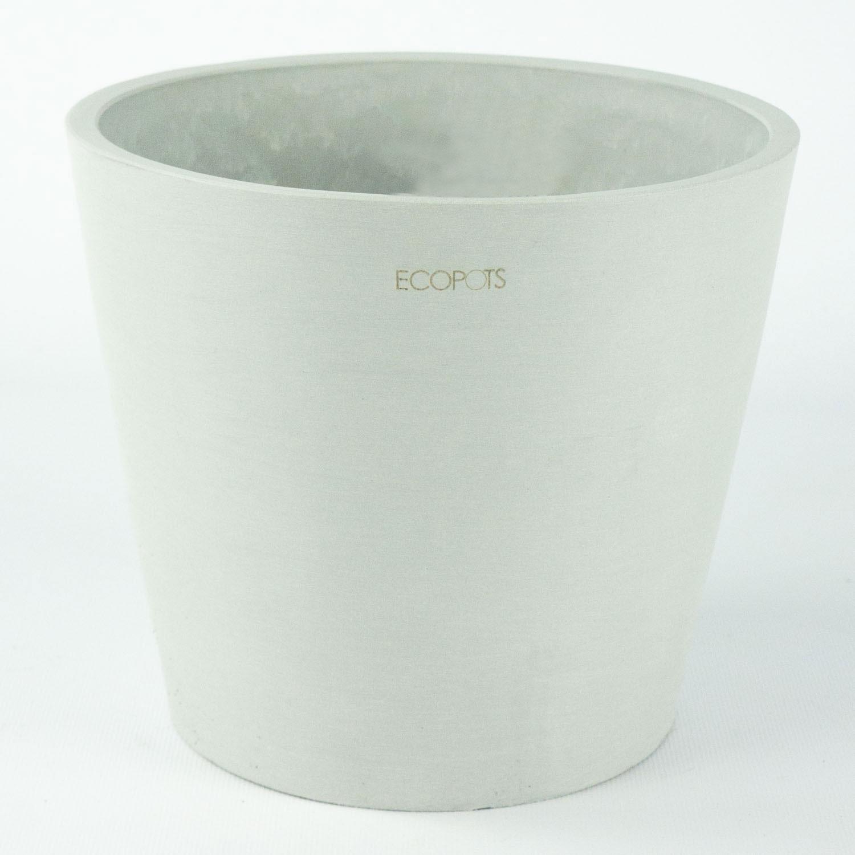 Maceta Amsterdam Eco 18 cm- Gris Claro